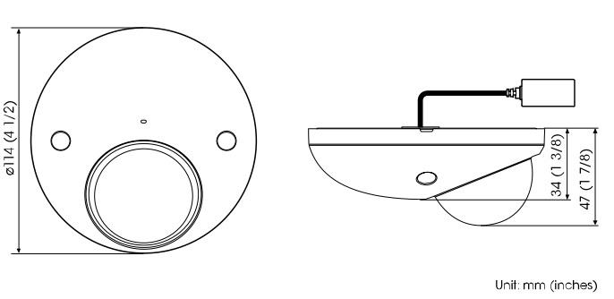 SMC-XM632 dimensions