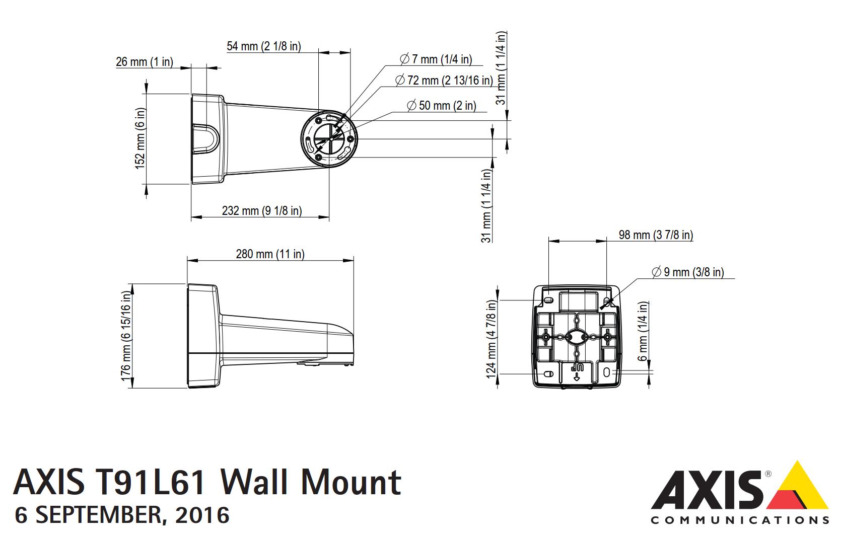 T91L61 Dimensions