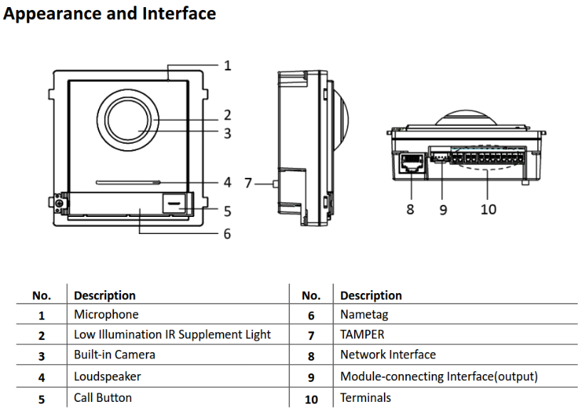DS-KD8003-IME1-NS  Dimensions