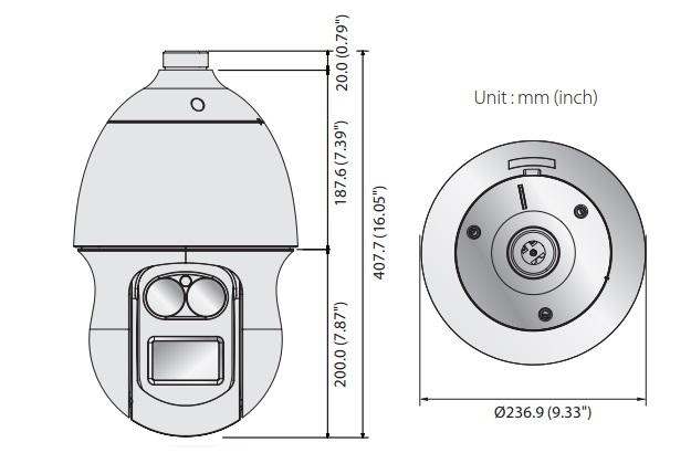 XNP-6370RH dimensions