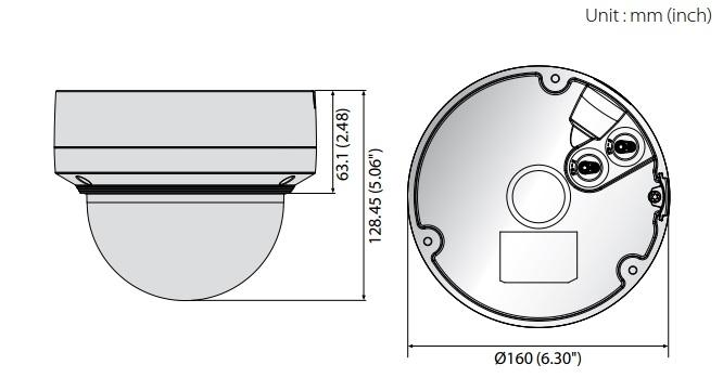 XNV-6120R dimensions