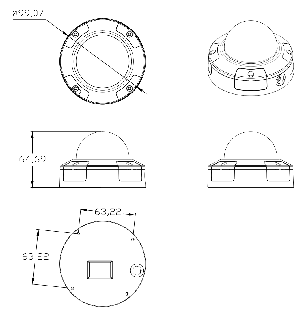 A92 Dimensions