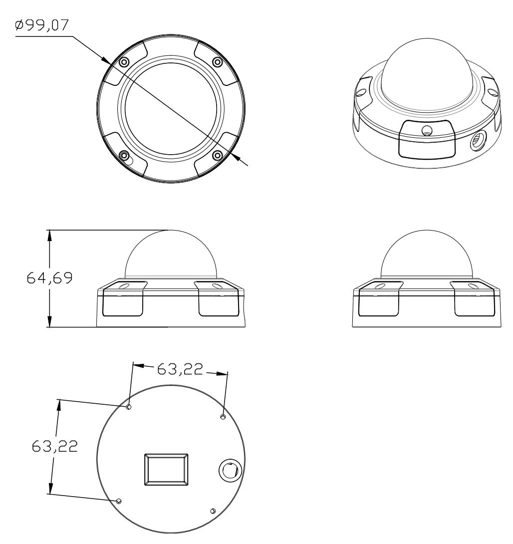 A96 Dimensions