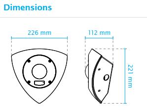 CD8371 Dimensions