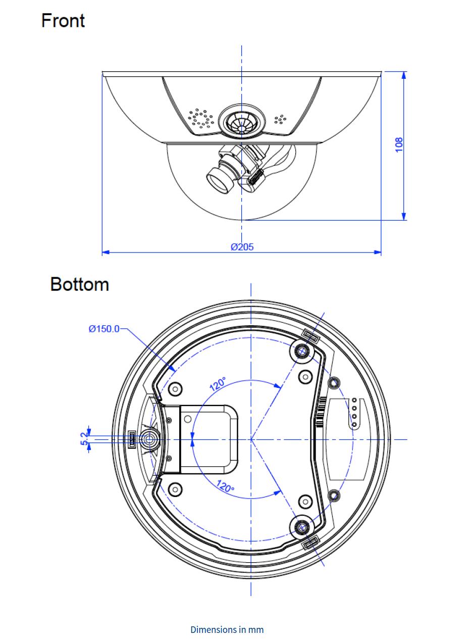 D16B Dimensions