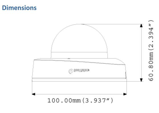 Geovision GV-EFD4700 Dimensions