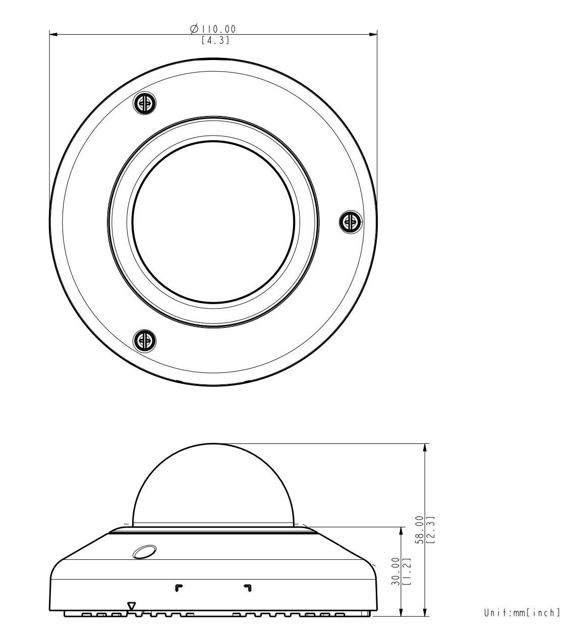 E912 Dimensions