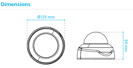 FD8179-H Dimensions