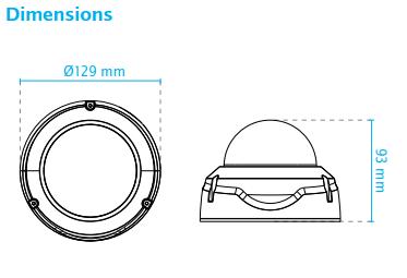 FD8379-HV Dimensions