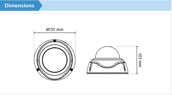 FD9371-HTV Dimensions