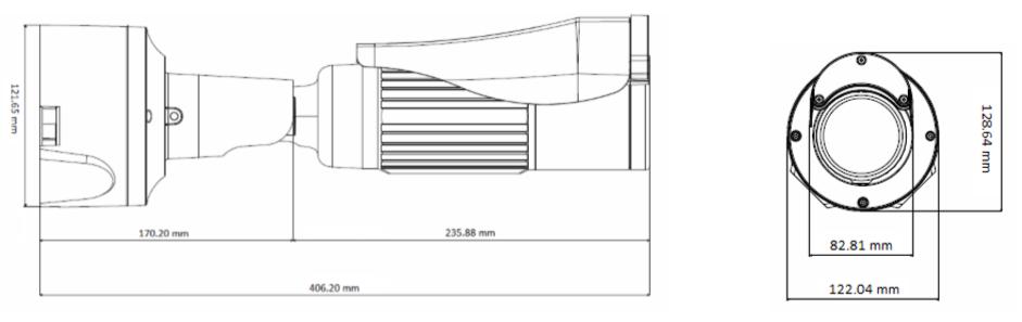 GV-BL4713 dimensions