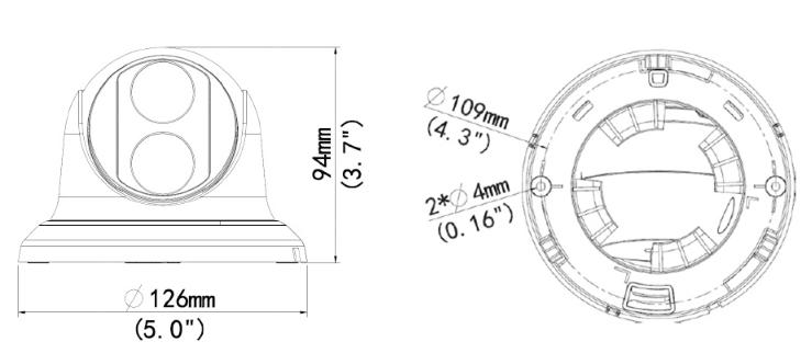 GV-EBD2702 dimensions