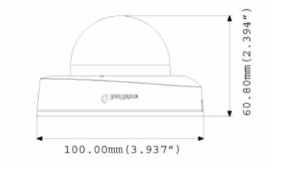 GV-EFD2700 dimensions