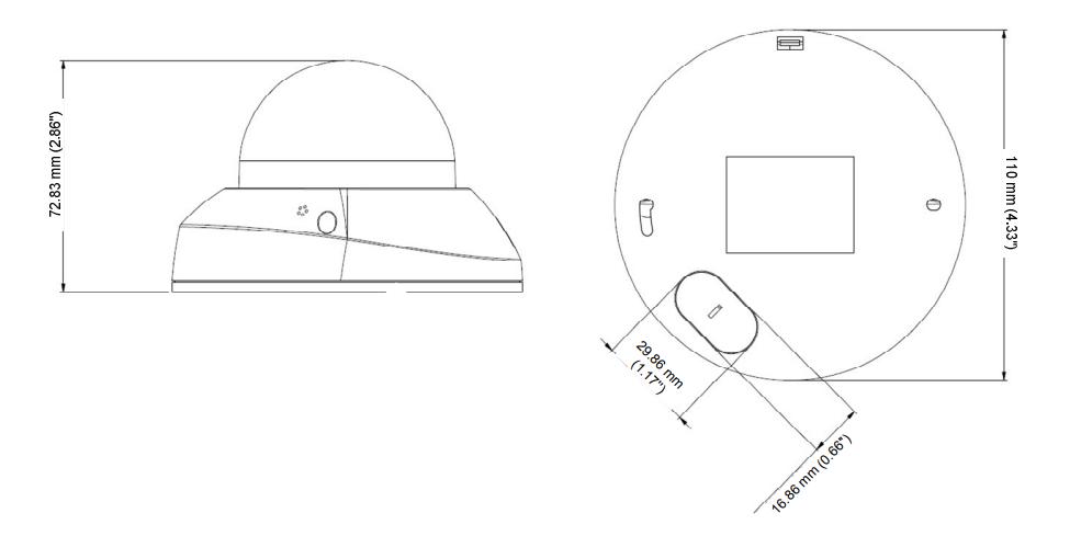 GV-MFD2700 dimensions