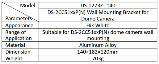 DS-1273ZJ-140 Info Card