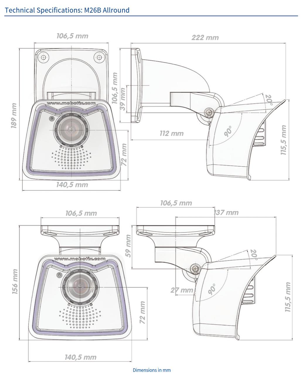 M26B Tech Specs