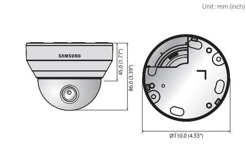 Samsung QND-6010R dimensions