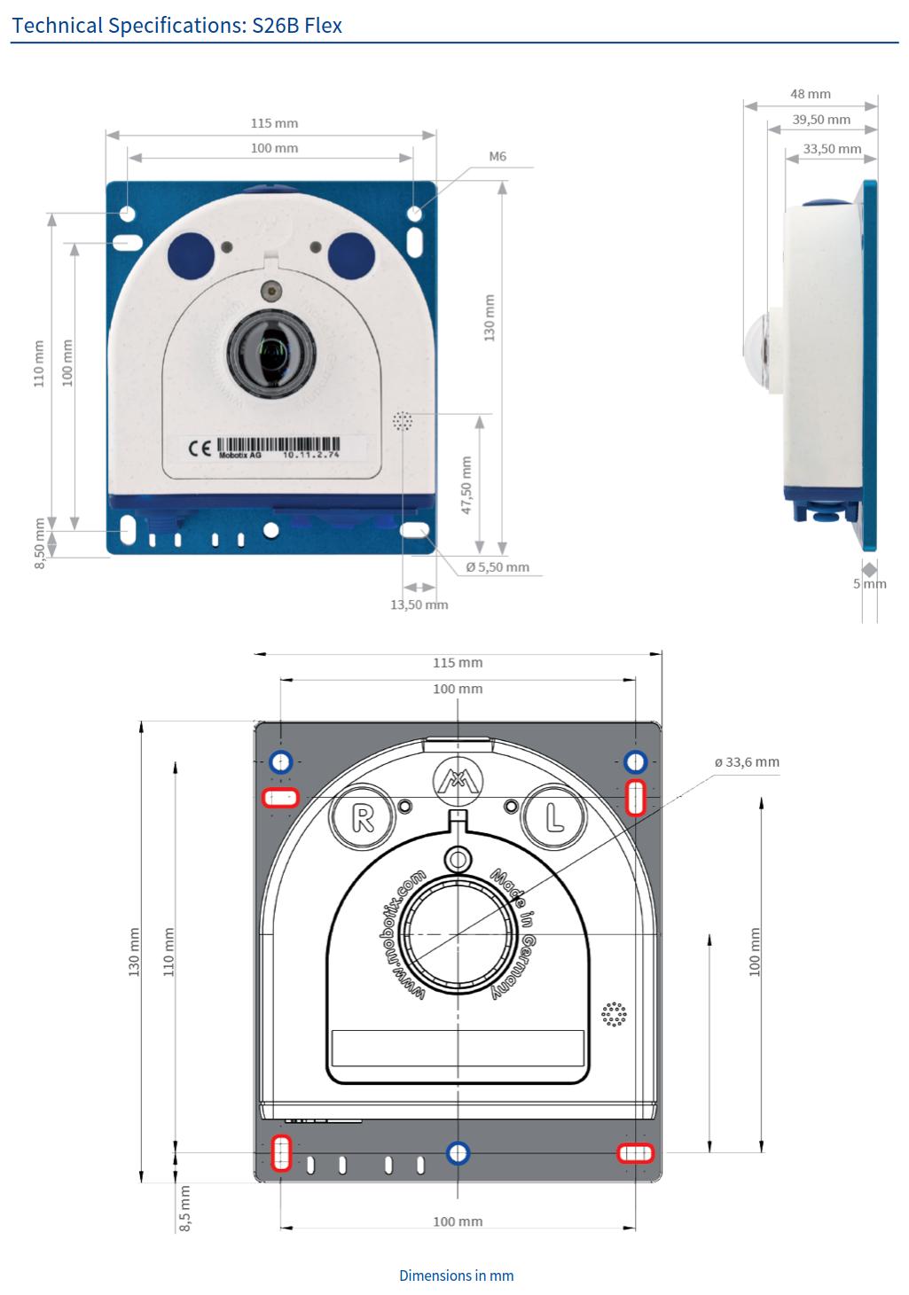 S26B Tech Specs
