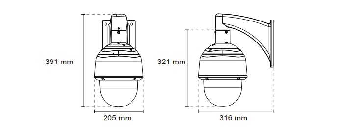Vivotek SD8333-E Speed Dome Network Camera