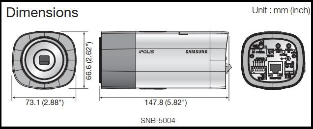 snB-5004/5003 1.3Megapixel HD Network Camera