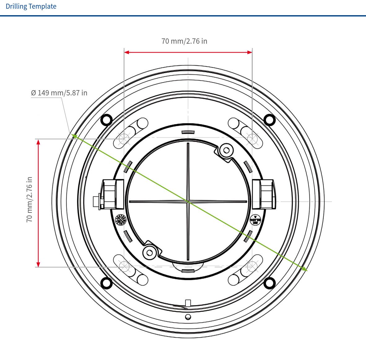 Mobotix v26 Dimensions