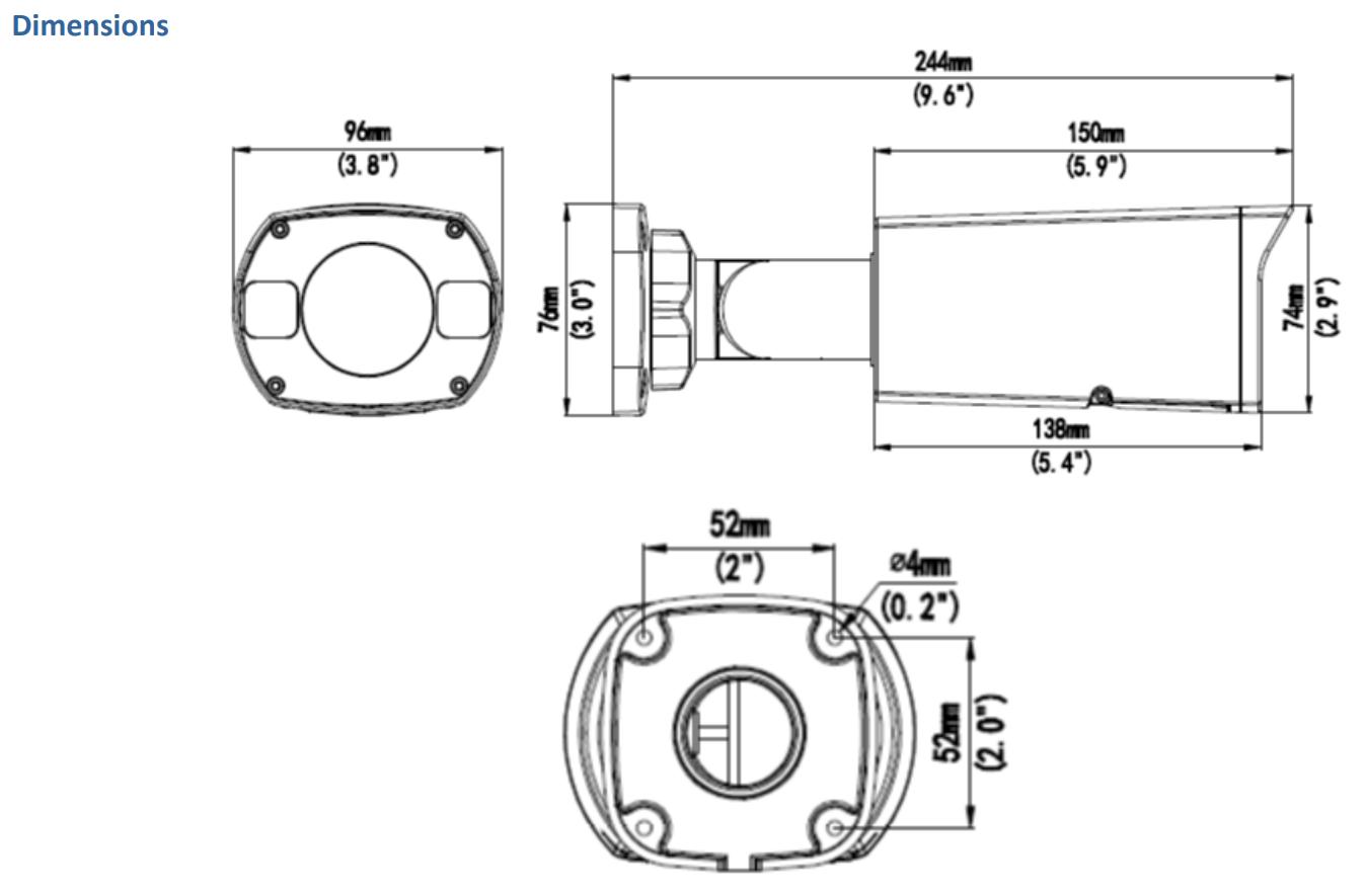 GV-TBL4700 Dimensions