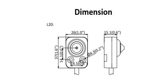 DS-2CD6425G0-20 Dimensions