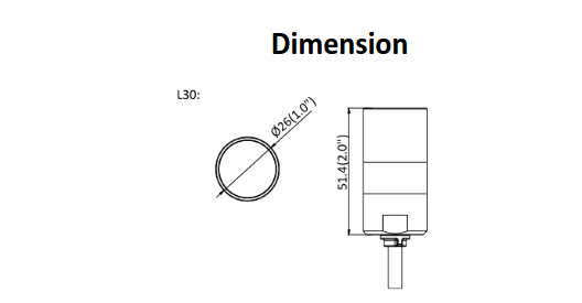 DS-2CD6425G0-30 Dimensions