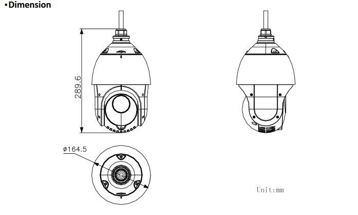 DS-2DE4215IW-DE(S5) Dimensions