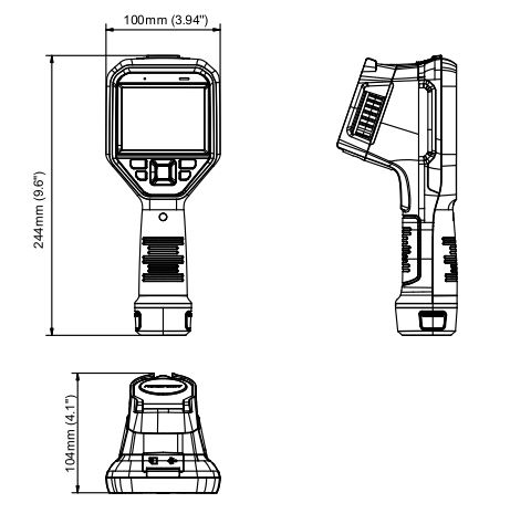 DS-2TP21B-6AVF/W  Dimensions