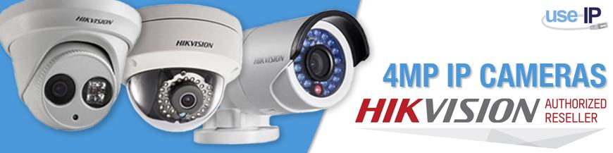 Hikvision 4MP Cameras