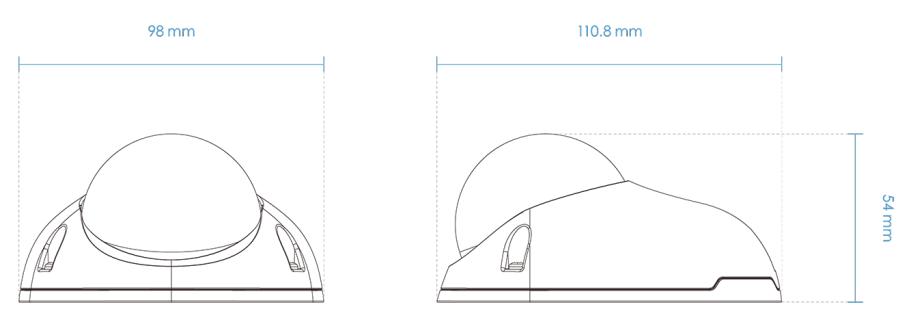 FD9366-HN Dimensions