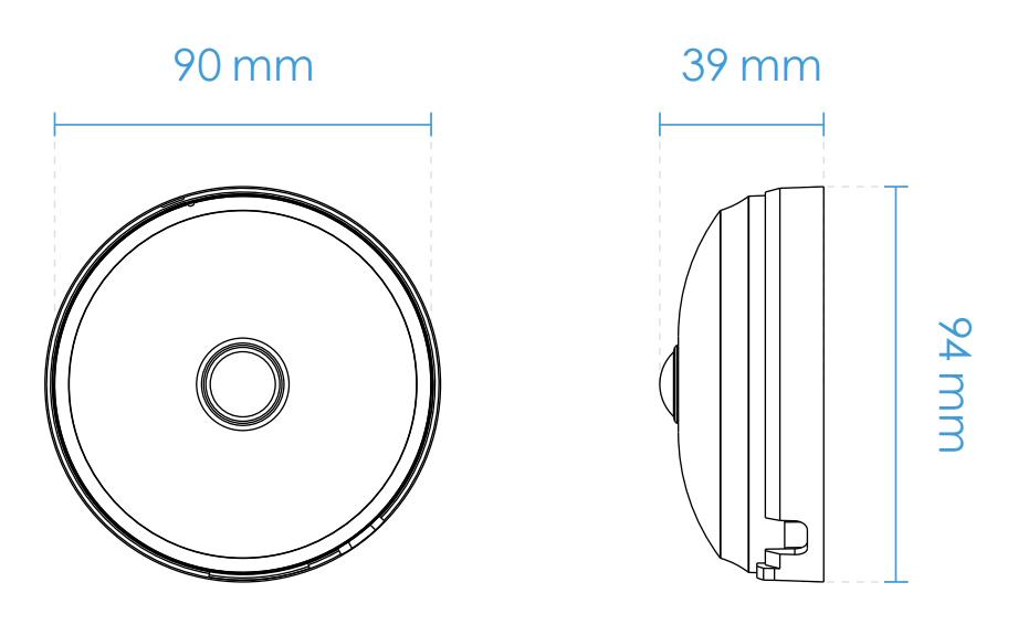 FE9180-H Dimensions