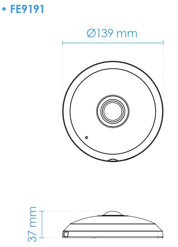 FE9191 Dimensions