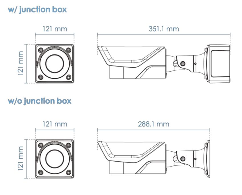 IB9365-EHT-A Dimensions