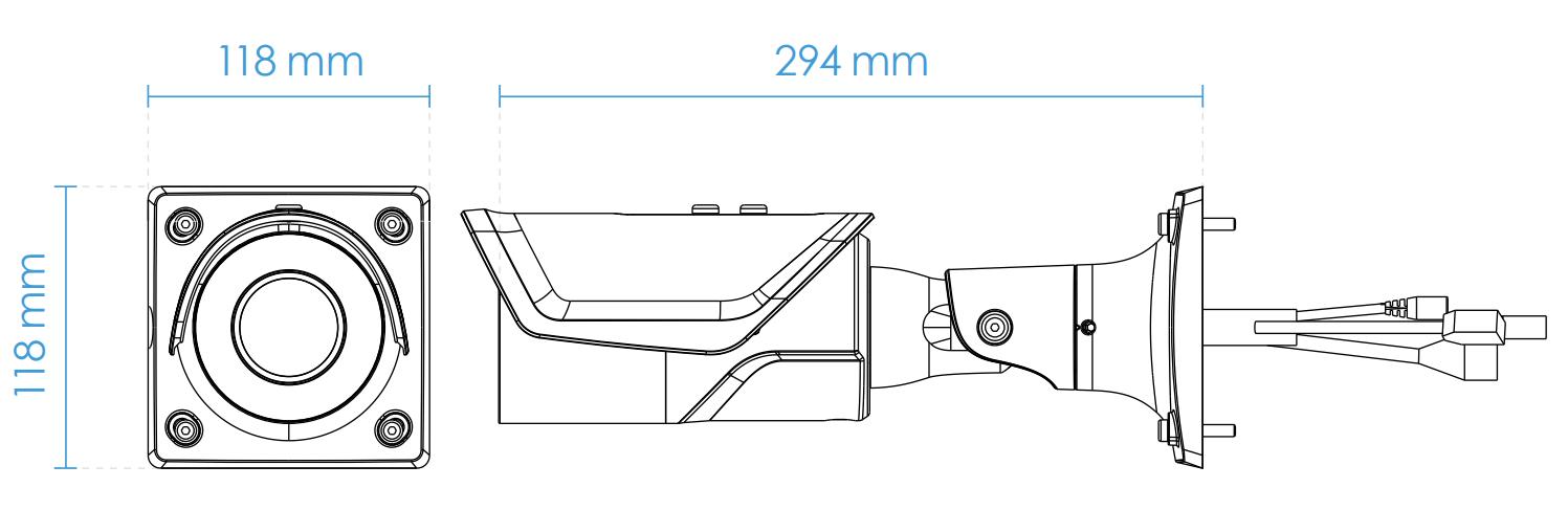 IB9367-H Dimensions