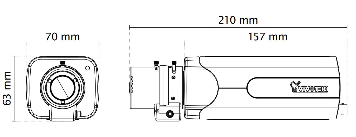 IP9181-H Dimensions