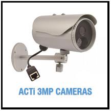ACTi 3MP Camera