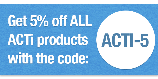 Get 5% off all ACTi products with the coupon code ACTI-5