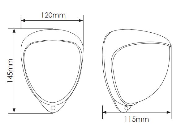 GJD230 dimensions
