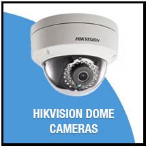 Hikivison Dome Cameras