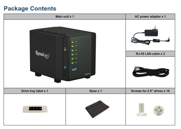 Synology Diskstation Ds416slim 4 Bay Nas Server