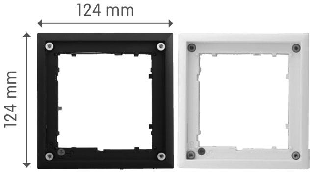 Mobotix FlatMount Dimensions