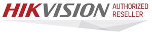 Hikvision Authorised Reseller Badge
